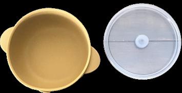 Silicone Bowl -MUSTARD