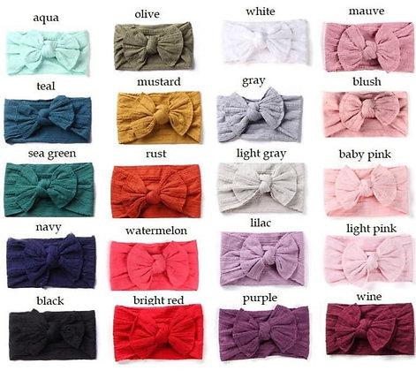 Fabric Headwrap Bow