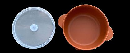 Silicone Bowl - Terracotta