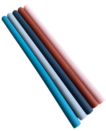 RC Silicone Straws - Spring Collection