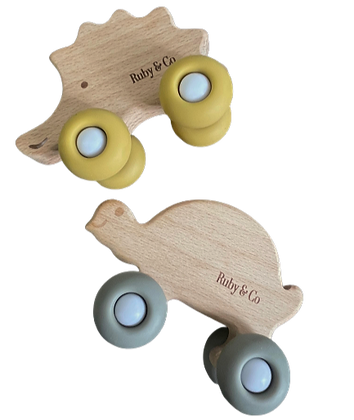 Modern Wooden Toy Cars