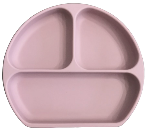 The Case - Silicone Suction Plate - Blush