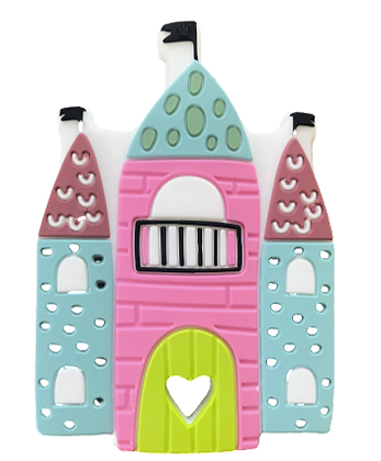 Silicone Teether - Princess Castle