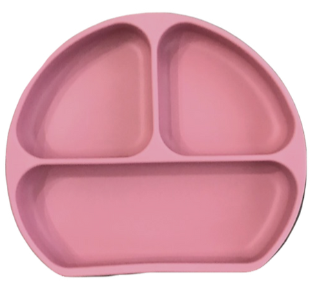 The Case - Silicone Plate -Dusty Rose