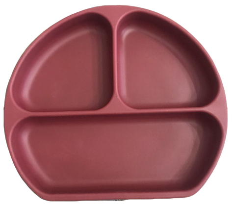 The Case - Silicone Suction Plate - Sangria