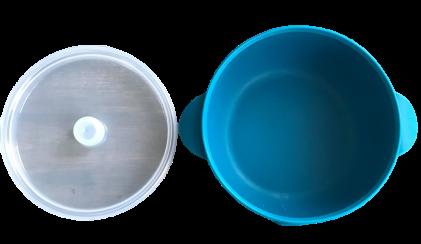 Silicone Bowl - Bermuda Blue