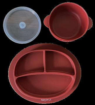 Sangria Suction Dinnerware Set