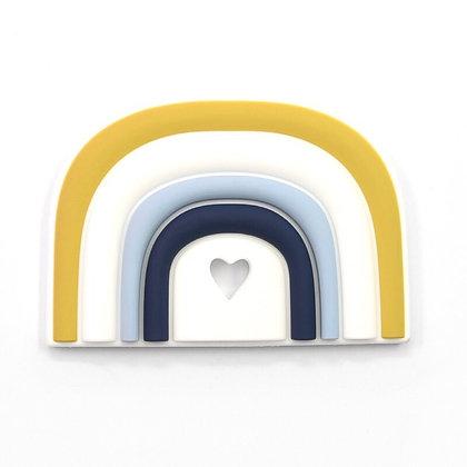 Modern Rainbow Silicone Teether