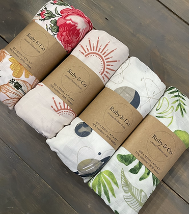 RC Swaddle Blanket Collection