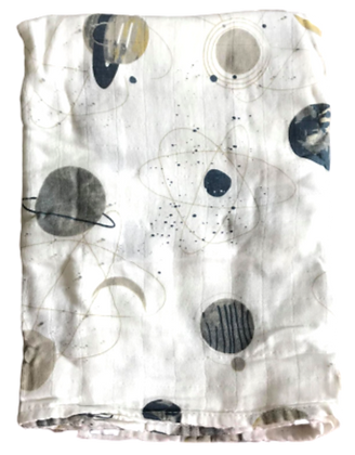 Dark Space Swaddle Blanket