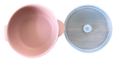Silicone Bowl - Blush
