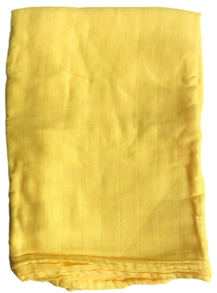 Sunshine Yellow Swaddle Blanket