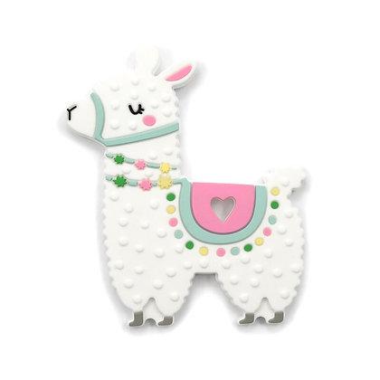 Spring Llama Silicone Teether