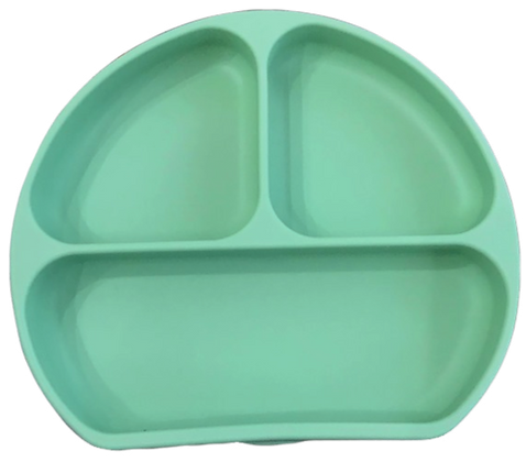The Case - Silicone Suction Plate - Wasabi