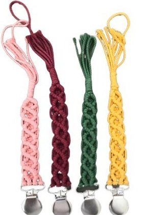 Holiday macrame clip collection