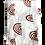 Thumbnail: Rust Neutral Rainbow Swaddle Blanket
