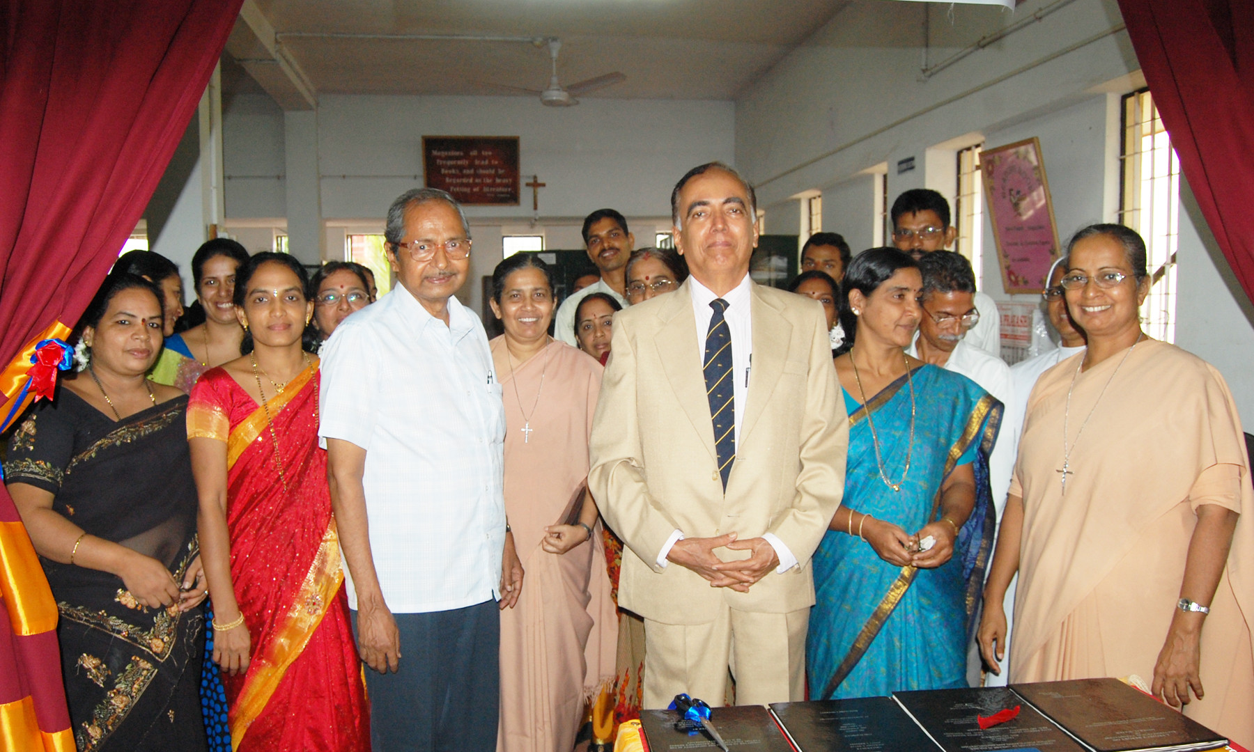 Inauguration of Exhibition by  Prof K V Rao