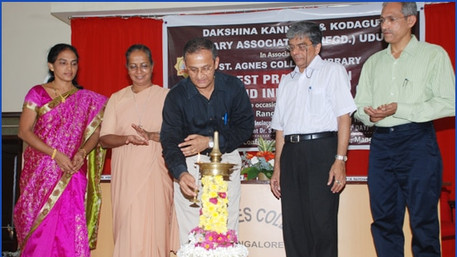 Inaugurated by Captain Ganesh Karnik,member of the Legislative Council and Deputy Chairman, NRI Forum of the State