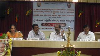 with Dr.Devaraj, Principal, SDM College