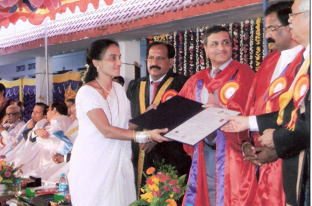 Ph D. Award