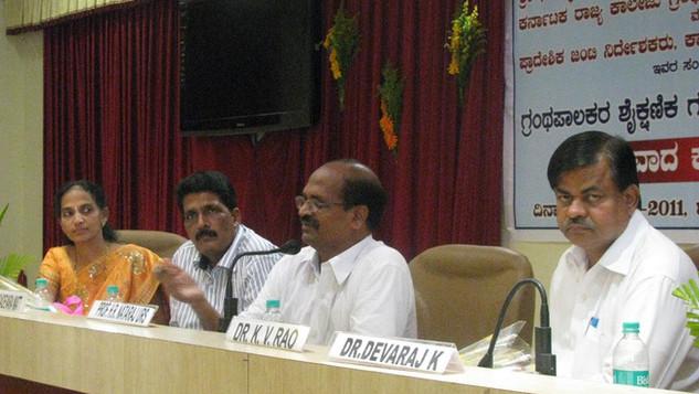 Samvada Karyakrama with Joint Director, Mangalore Region