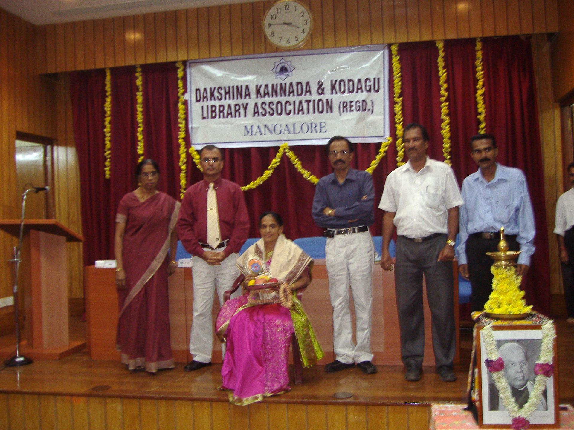 Felicitation by DKKLA (R),Udupi