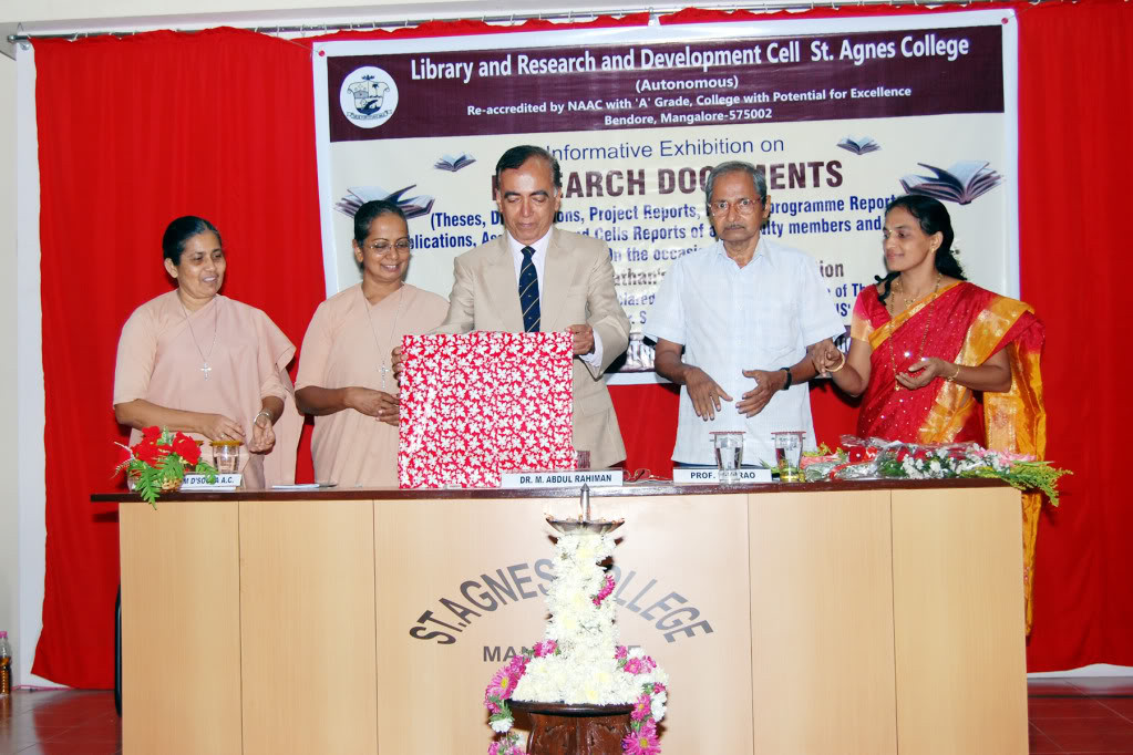Inauguration by Prof Rehaman, Former Vice Chancellor of Calicut University