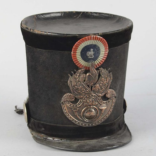 French Gardes Nationales epoch 'Louis Philippe' 1830's Shako.