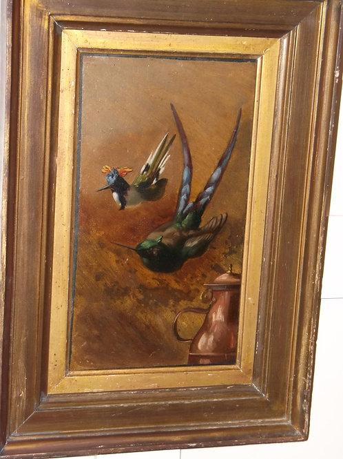 Birds in flight - attributed to Louis Gautier.