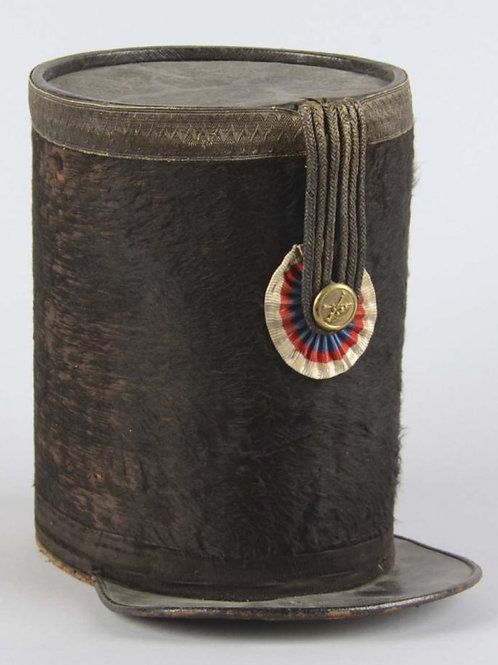Early 19th century - French Artillery Officer's Shako.