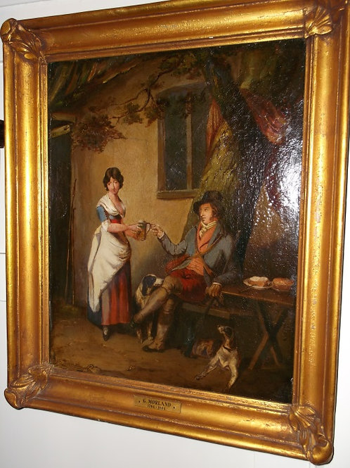 "George Morland c.1791 - ""Outside the Inn"""