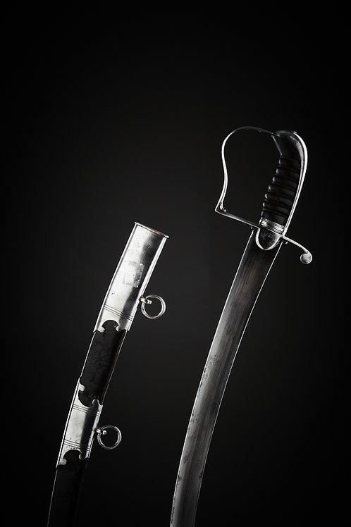 1796 Pattern British Infantry Flank Officer Sword