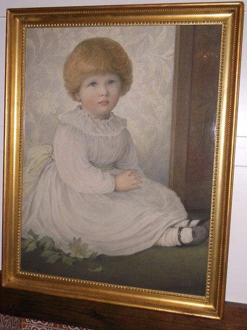 Portrait of Cicely by Mary D. Tothill