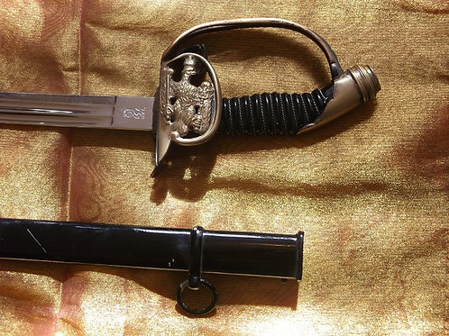 Model 1889 Prussian infantry officer's sword
