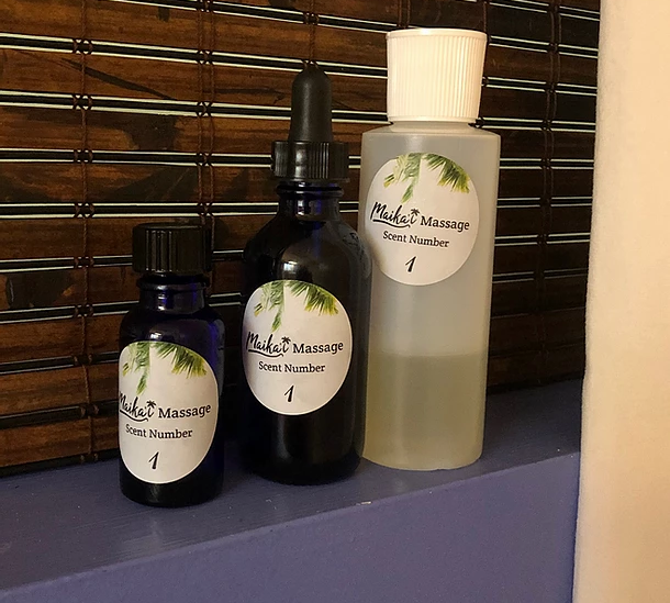Signature scents and Kukui Nut Oil