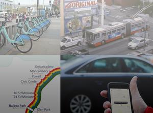 Transportation options around San Francisco
