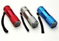 9LED flashlight