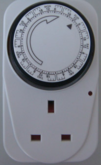 Weekly Mechanical timer