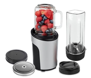 Personal blender with portable Bottle