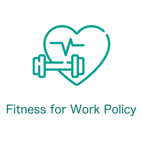 Fitness for Work Policy