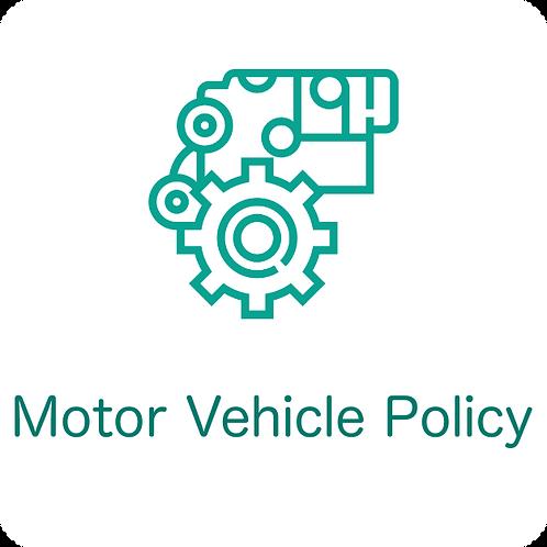 Motor Vehicle Policy