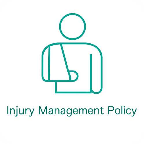 Injury Management Policy