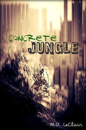 Book Cover. Book. Novel. Title. New Author. Concrete Jungle.