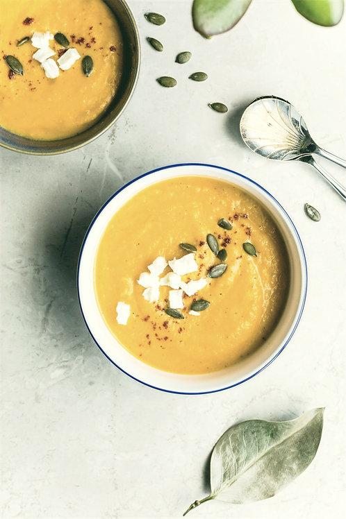 Вестфальский гороховый суп с копченым ребрышком