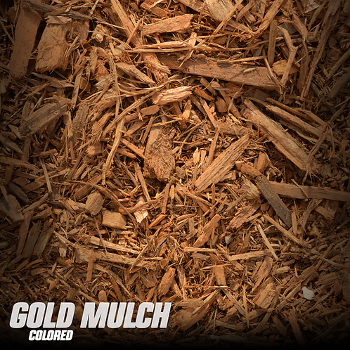 Gold Mulch (colored)