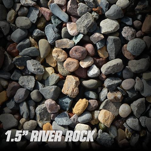 "River Rock 1.5"""