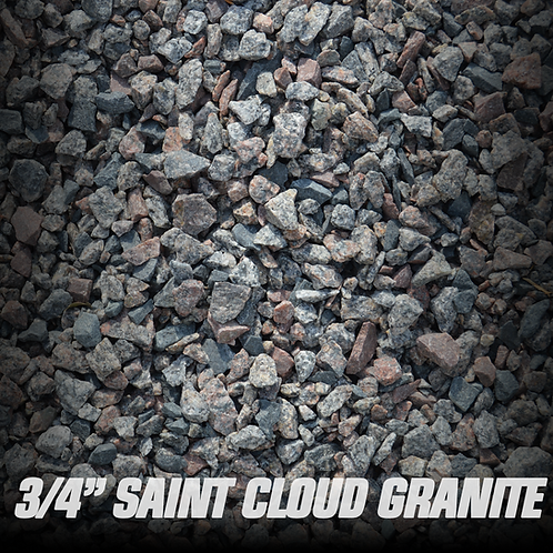 Saint Cloud Granite 3/4""