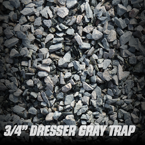 "Dresser Gray Trap 3/4"""