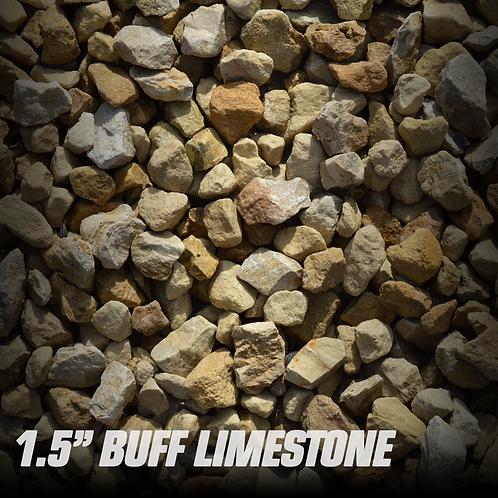 """Buff Limestone 1.5"""""""