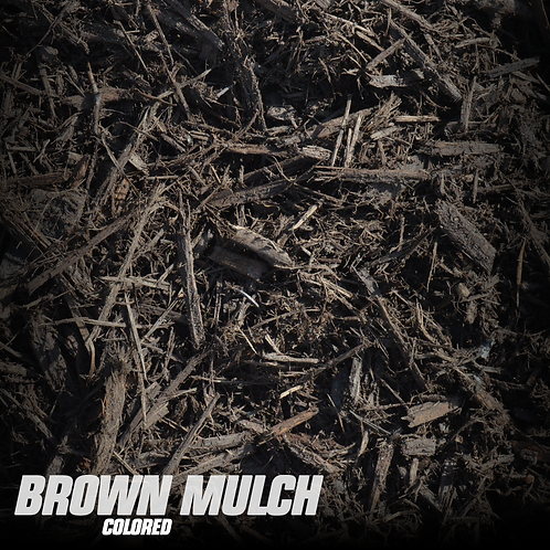 Brown Mulch (colored)